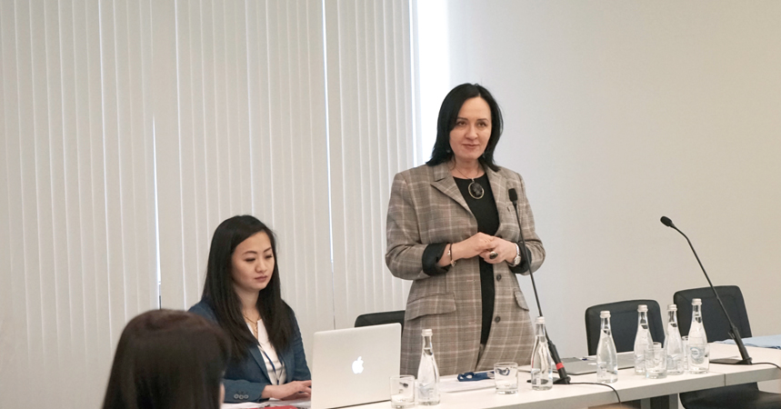Профессор Аравийская на семинаре по эстетической гинекологии