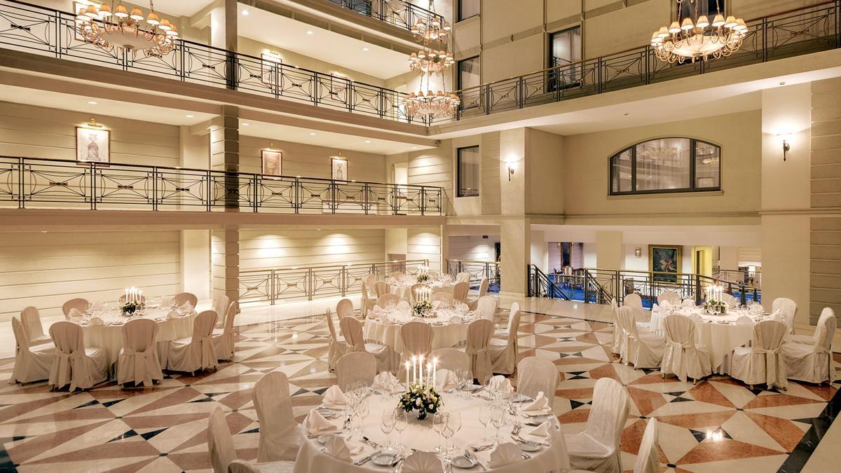 Холл отеля Кемпински Мойка 22